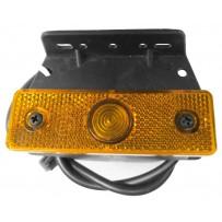 Seitenmarkierungslampe mit Leuchtmittel/Side marker lamp incl. bulb