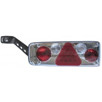 Rückleuchte inkl. Spurhalteleuchte, ohne Leuchtmittel links/Tail lamp incl. sidemarkerlamp, no bulbs LH