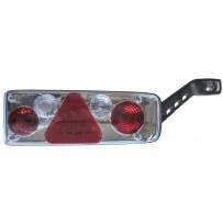 Rückleuchte inkl. Spurhalteleuchte, ohne Leuchtmittel rechts/Tail lamp incl. sidemarker lamp, no bulbs RH