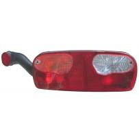 Rückleuchte mit Spurhalteleuchte links/Leuchtmittel/Taillamp with side marker lamp incl. bulb/LH