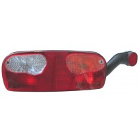 Rückleuchte mit Spurhalteleuchte rechts inkl. Leuchtmittel/Taillamp with side marker lamp incl. bulb/RH