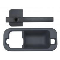Türgriff außen komplett ohne Schlosszylinder rechts/Door handle outside complete RH
