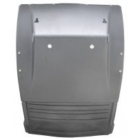 Kotflügel HA hinten mit Antispraymatte / Mudguard RA backside