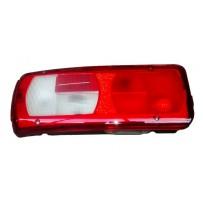 Rückleuchte links mit Kennzeichenleuchte, ohne Leuchtmittel/Taillamp with license lamp, no light bulbs, LH