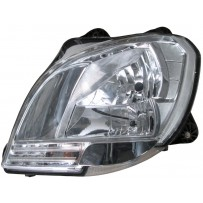 Hauptscheinwerfer ohne Leuchtmittel, links / Head lamp, no light bulbs, LH