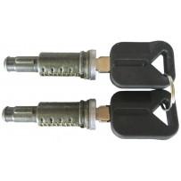 Türschließzylinder + Schlüssel-Set(2Stk.)-Door lock szs+keys-set(2pc.)