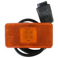 Seitenbegrenzungsleuchte mit Kabel 75 cm LED/Sidemarker lamp with wire 75 cm