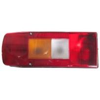 Rückleuchte mit Kennzeichenbeleuchtung  links mit Leuchtmittel/Taillamp with number plate  LH, no light bulbs