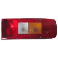 Rückleuchte rechts mit Alarm und Leuchtmittel/Taillamp RH with buzzer and light bulbs