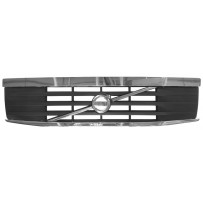 Grill mit Zierleisten und Original Volvo Logo/Grille with strip and original volvo logo