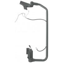 Spiegelarm komplett mit Verkabelung und Konsolen rechts/Mirrorarm compl. with wires and brackets RH