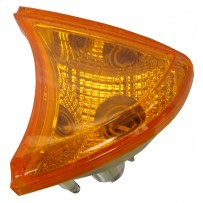 Blinker gelb inkl. Sockel links/Corner lamp amber incl. socket LH