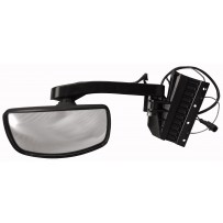 Frontspiegel mit Arm / front view mirror heat with arm LH-RH