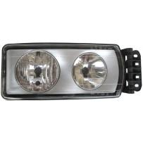 Hauptscheinwerfer manuel rechts/Head lamp manual RH