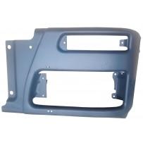 Stoßfängerhelfte links dunkelgrau / Front bumper LH grey