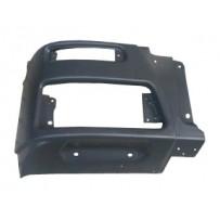 Stoßfängerhälfte Stahl rechts, dunkelgrau / Front bumper RH, grey