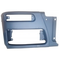 Stoßfängerhälfte Stahl rechts dunkelgrau / Front bumper RH grey