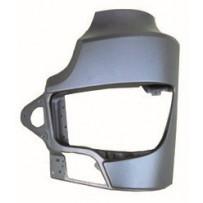 Scheinwerferabdeckung Stahl links / Headlight cover steel LH