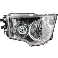 Hauptscheinwerfer Halogen elektrisch einstellbar ohne Tagfahrlicht links / Headlight halogen electrically adjustable no daytime light LH