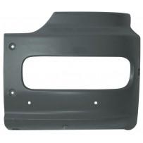 Stoßecke links schwarz - Höhe 400 mm/Bumper corner LH  black