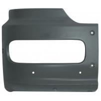 Stoßecke rechts schwarz/Bumper corner RH black