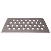 Stufenplatte Einstieg Aluminium/Step upper alloy
