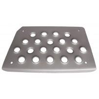 Trittstufe Aluminium rechts - Einstieg unten /Step lower alloy RH