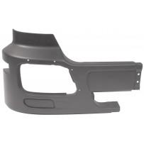 Stoßfängerecke Stahl ohne Nebelscheinwerfer schwarz rechts/Side bumper iron no fog lamp hole black RH