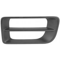 Abdeckung Lufteinlass Stoßfängerhälfte links/Cover airinlet side bumper LH