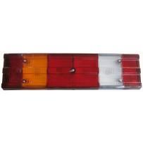 Rückleuchte mit Leuchtmittel rechts / Taillamp with bulbs RH