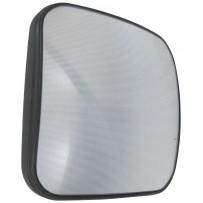 Weitwinkelspiegel manuell einstellbar und beheitzt / Wide angle mirror manually adjustable and heated
