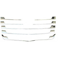 Zierleistensatz Chrom 13-teilig / Front grille chrome rim set 13 pieces