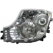 Hauptscheinwerfer Halogen mit LED Tagfahrlicht links / Headlight halogen with LED daytime running light LH
