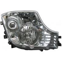 Hauptscheinwerfer Halogen mit LED Tagfahrlicht rechts / Headlight halogen with LED daytime light RH