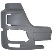 Stoßfängerhälfte grau mit Nebelscheinwerfer und ohne Lufteinlass rechts/Side bumper grey with foglamp without airinlet hole RH