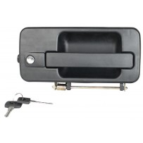 Türgriff inkl. Schloss und 2 Schlüssel rechts/Door handle incl. lock + 2 keys RH