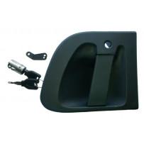 Türgriff mit Schließzylinder und 2 Schlüssel links / Door handle with lock cylinder and 2 keys LH