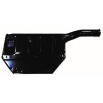 Kotflügelhalterung Hinterachse hinten links / Mudguard bracket rear axle rear LH