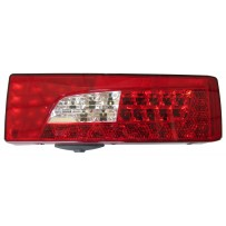 Rückleuchte LED rechts mit Alarm/Rear lamp LED RH with buzzer