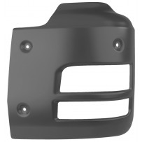 Stoßfängerecke Stahl links / Front bumper corner steel LH