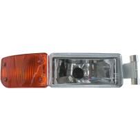 Nebelscheinwerfer mit Blinkerleuchte gelb rechts / Fog lamp with turn signal lamp amber RH
