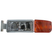 Nebelscheinwerfer mit Blinkerleuchte gelb links / Fog light with turn signal lamp amber LH