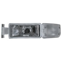 Nebelscheinwerfer mit Blinkerleuchte weiss links / Fog light with turn signal lamp withe LH