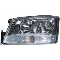 Hauptscheinwerfer manuell einstellbar mit Tagfahrlicht links / Headlight manually adjustable with daytime light LH