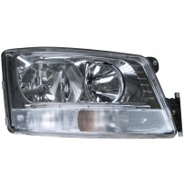 Hauptscheinwerfer manuell einstellbar mit Tagfahrlicht rechts / Headlight manually adjustable with daytime light RH