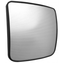 Ersatzglas Weitwinkelspiegel beheizt rechts / Wide angle mirror replacement glass heated RH