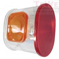 Ersatzglas Eckbegrenzungsleuchte / Marker lamp replacement glass