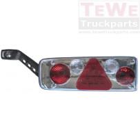 Rückleuchte mit Spurhalteleuchte ohne Leuchtmittel links / Taillamp with side marker lamp no bulbs LH