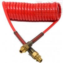Luftwendel, rot / Air brake tube, red