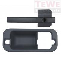 Türgriff außen komplett ohne Schließzylinder links / Door handle outside complete no lock cylinder LH